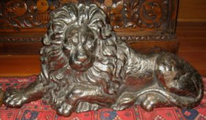 Cast Iron Lion From An English Pub Sign