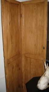 Pair of 19th Century English Pine Doors