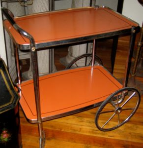 Art Deco Tea Cart