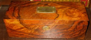 Rosewood Jewelry Box - SOLD