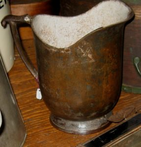 Cast Iron Pitcher